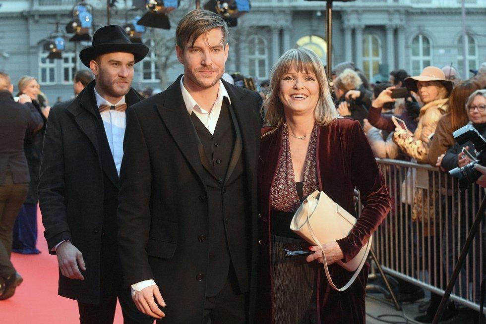 Vladimír Polívka s maminkou Chantal