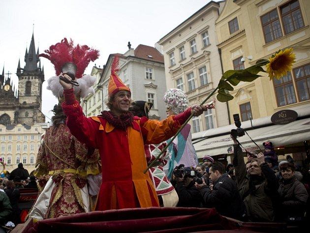 Masopust v Praze.