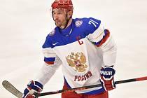 Hvězda ruského výběru Ilja Kovalčuk.