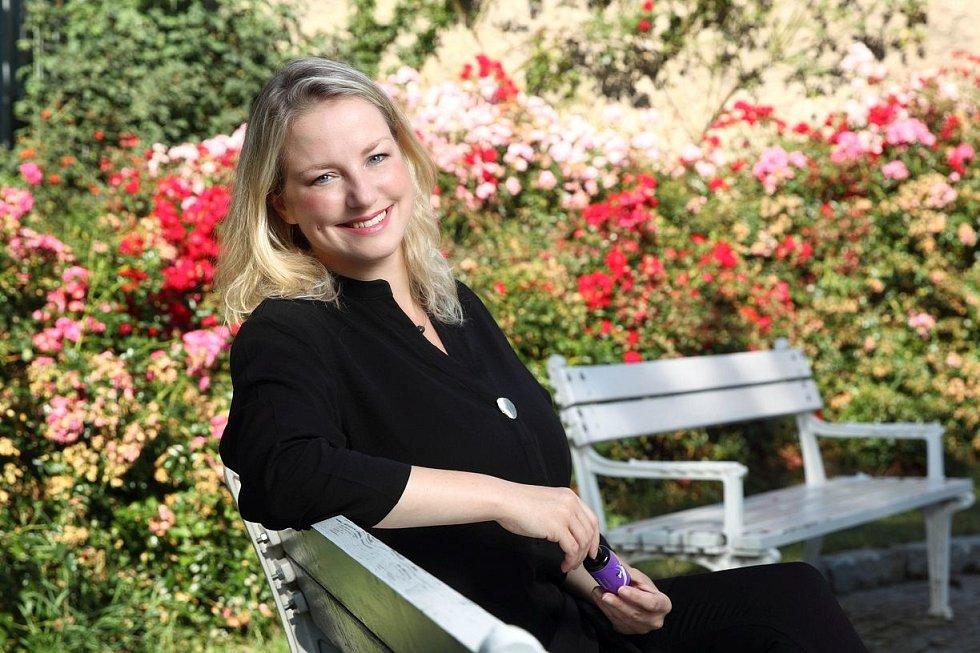 Markéta Filipová, lektorka Školy čichu, míchá vůně i pro zdravotnická a pečovatelská zařízení.