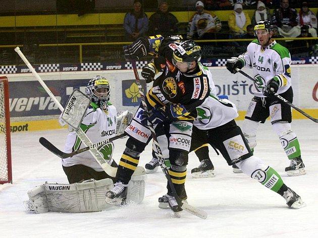 Ani gól Martina Frolíka nestačil hokejistům Litvínova na výhru proti Mladé Boleslavi.