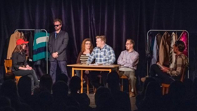 Představení Boss Babiš v Divadle RePublika