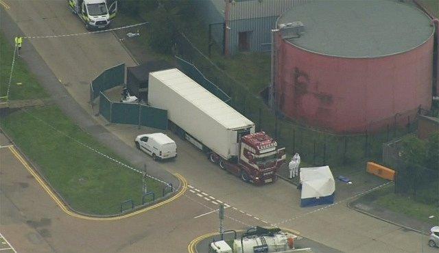 V kamionu z Bulharska našla britská policie 39 mrtvých lidí