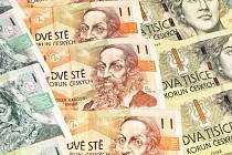 české bankovky