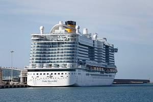 Loď Costa Smeralda
