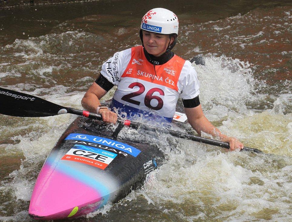 Světový pohár ve vodním slalomu v pražské Troji