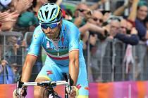 Vincenzo Nibali na Giro d'Italia.