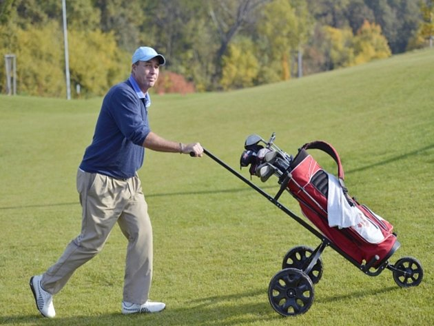 Bývalý tenista Ivan Lendl si užívá v Česku golfový týden.