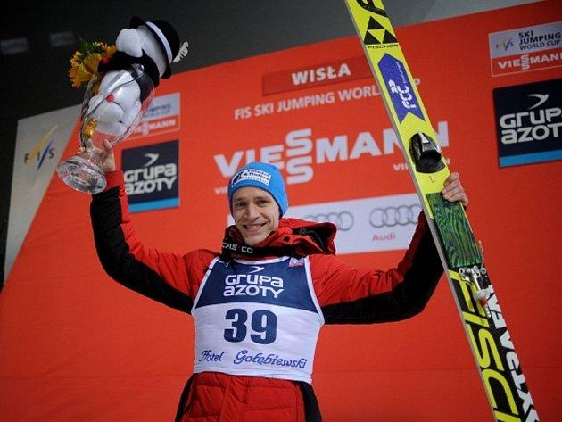 Roman Koudelka triumfoval v závodu SP ve Wisle.