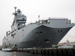 Válečná loď Mistral