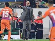 Trenér Manchesteru City Pep Guardiola.