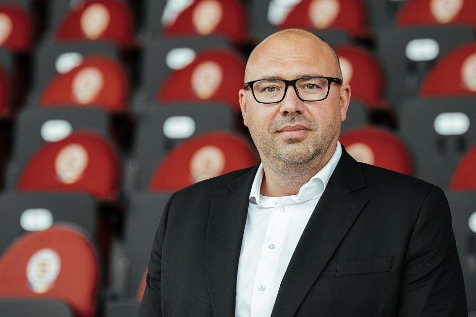 Generální ředitel fotbalové Sparty František Čupr.
