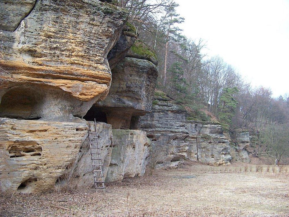 Jeskyně Klemperka a skály