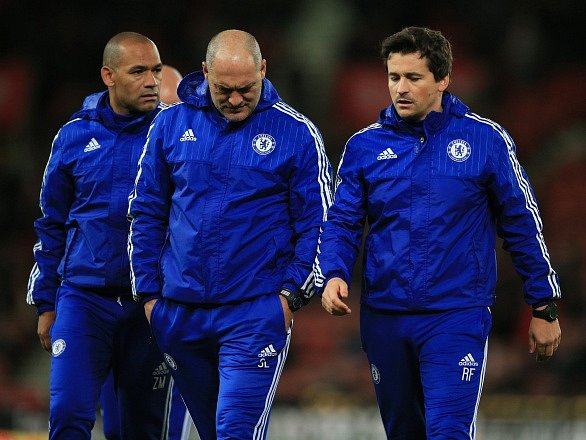 José Morais (vlevo) ještě v Chelsea