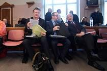 Obžalovaní v kauze Mostecké uhelné - Jiří Diviš, Petr Kraus, Oldřich Klimecký