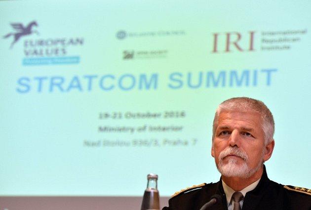Generál Petr Pavel na konferenci Stratcom