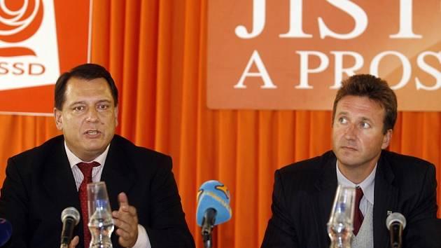 Dne 7.9.2007 se v Lidovém domě setkal předseda ČSSD Jiří Paroubek s prezidentem České lékařské komory Milanem Kubkem (na snímku vpravo).