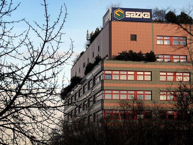 Budova společnosti Sazka v Praze – Vysočanech.