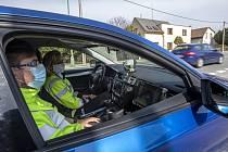 Policejní kontrola v Královéhradeckém kraji