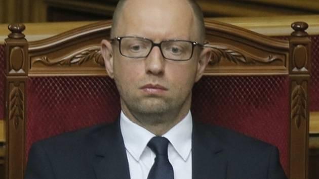 Bývalý ukrajinský premiér Arsenij Jaceňuk.