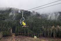 Lyžařské středisko v Deštném