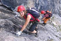 Mezi vysokohorskými turisty jsou stále populárnější via ferraty