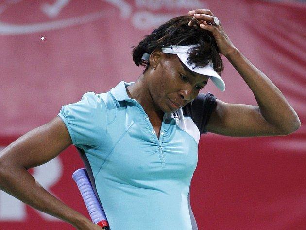 Venus Williamsová mohla po porážce zpytovat svědomí.