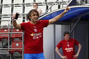 Jakub Kohák je známý fotbalový nadšenec
