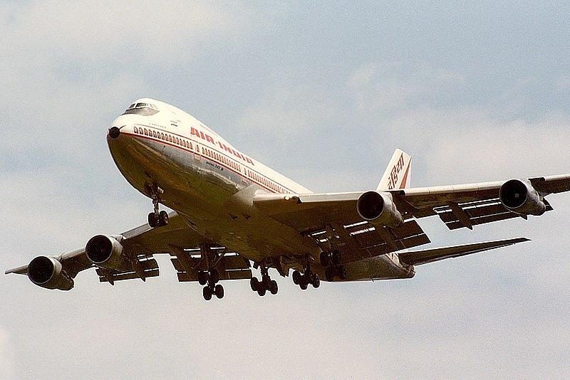 Přesně tento Boeing společnosti Air India s 329 cestujícími na palubě se stal cílem teroristického útoku v roce 1985. Snímek byl pořízen pouhých několik týdnů před spácháním útoku.