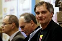 KONFERENCE. Nominací na divadelní ceny Thálie se zúčastnil též herec Ivan Trojan.