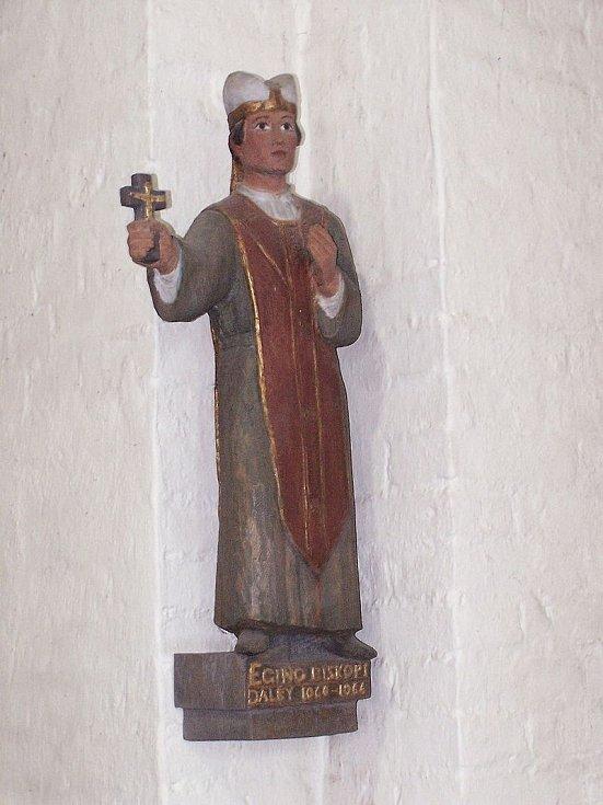 Soška lundského biskupa z let 1062 až 1075