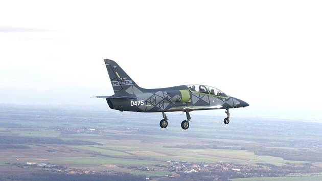 Aero L-39NG při letu
