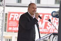 Poslanec Alternativy pro Německo Stephan Protschka