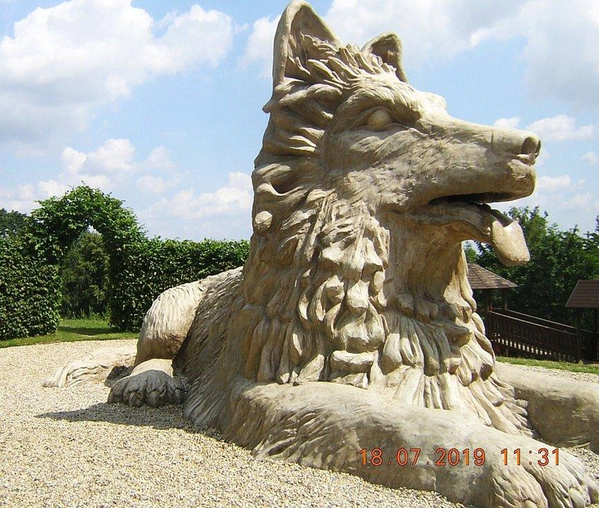 Pes Chody - atrakce na Hrádku