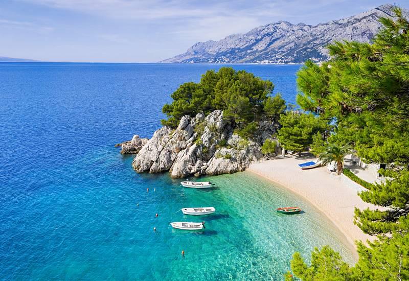 Pláž v Dalmácii.