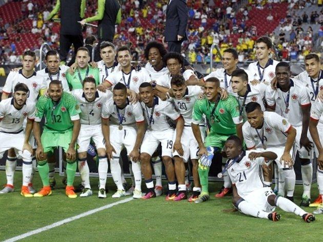 Fotbalisté Kolumbie získali na Copě América bronz.