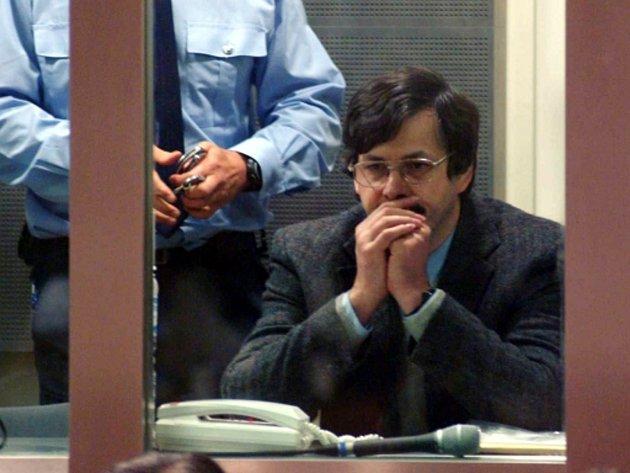 Odsouzený pedofilní vrah Mark Dutroux.
