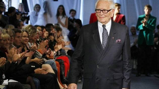 Francouzský módní návrhář Pierre Cardin