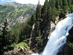 Vodní živel - Krimmelské vodopády.