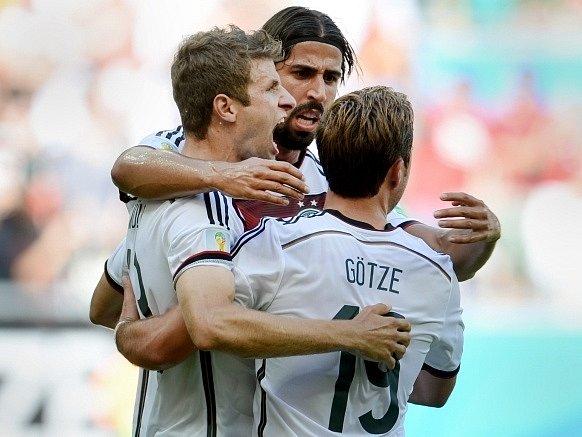 Německo - Portugalsko: Německá radost