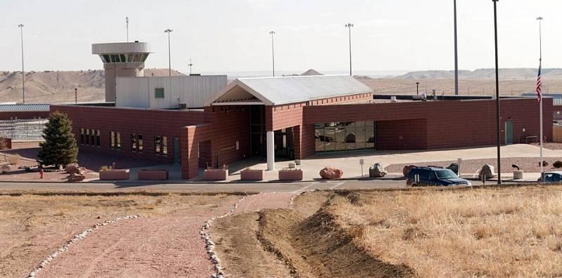 Přísně střežené věznění ve státě Colorado, ve kterém si doživotní trest odpykává atentátník Eric Robert Rudolph.