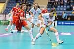 Zápas o třetí místo mezi Českem a Švýcarskem