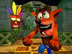 PlayStation 4 hra Crash Bandicoot: N'Sane Trilogy.