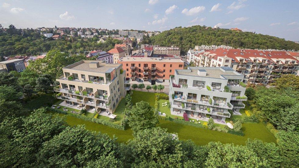 Geosan Development nově odstartoval výstavbu komorního projektu Rezidence Neklanka v pražských Radlicích.