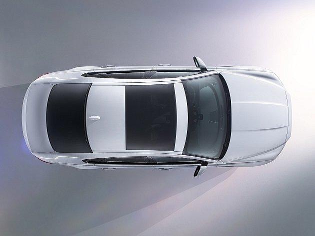 Nový Jaguar XF.