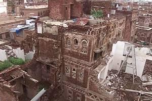 San'á, historicky cenné hlavní město Jemenu zapsané na seznam světového dědictví UNESCO, ohrožují ničivé povodně