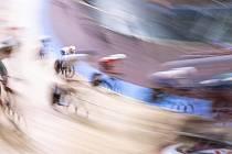 Dráhová cyklistika - ilustrační foto.