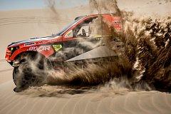 Abú Zabí Desert Challenge Rallye.