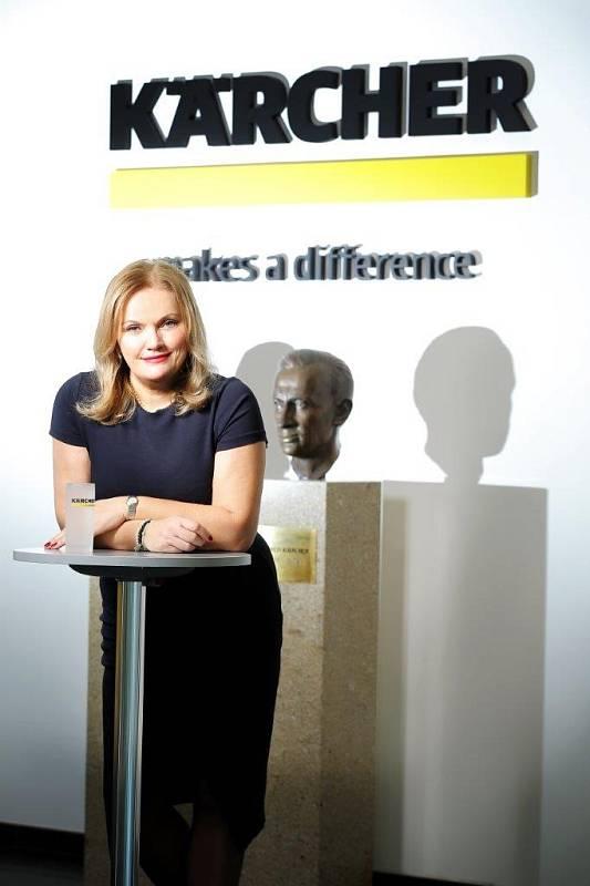 Milada Skutilová a firma Kärcher