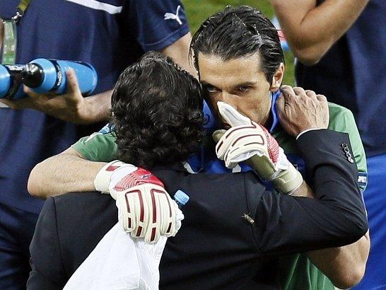 Gianluigi Buffon vychytal pro Italy postup do semifinále Euro.